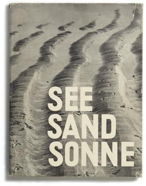 Arvid Gutschow: See,Sand, Sonne, 1930
